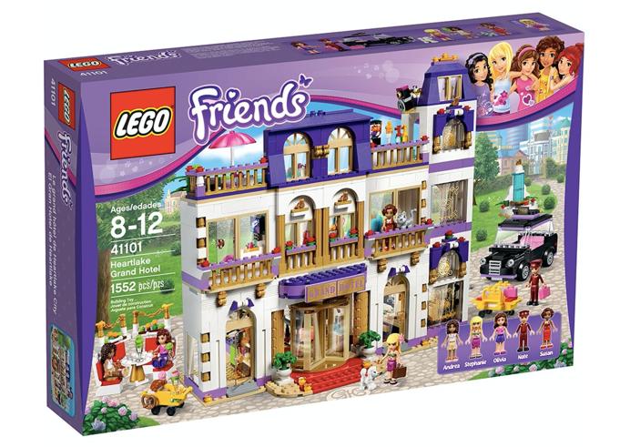 LEGO 41101 - El Gran Hotel de Heartlake