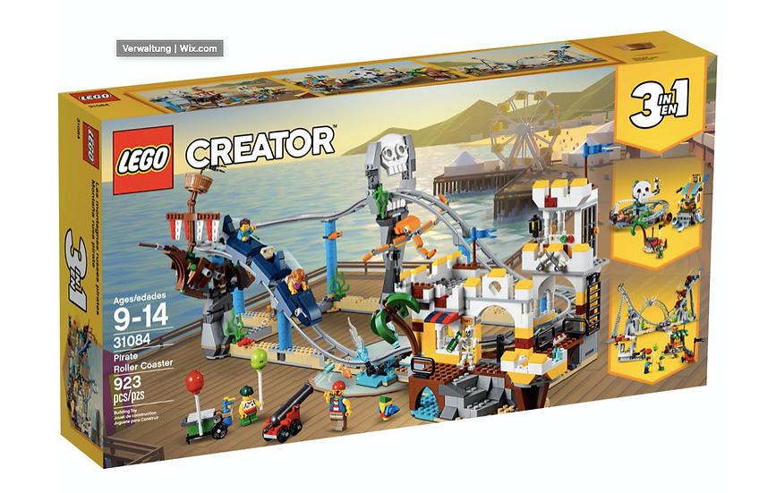 LEGO 31084 - Montaña rusa pirata