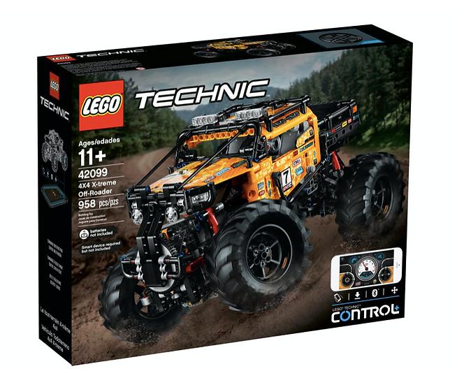 LEGO 42099 - Todoterreno Radical 4x4