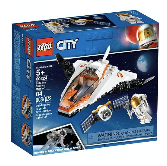 LEGO 60224 - Misión: Reparar el Satélite
