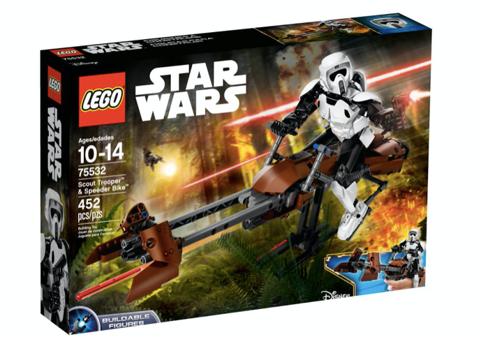 LEGO 75532 - Scout Trooper™ y Speeder Bike™