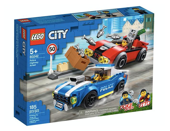 LEGO 60242 - Policía: Arresto en la Autopista