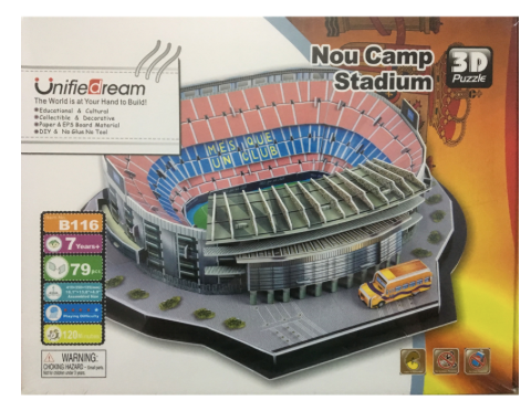 Puzzle 3D - B116 - Nou Camp Stadium