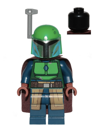 Minifig sw1078 - Mandalorian Tribe Warrior