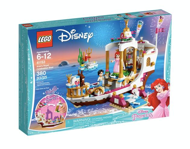 LEGO 41153 - Barco real de ceremonias de Ariel