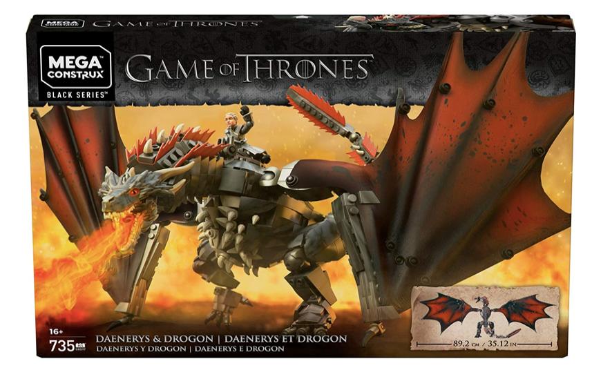 MEGA CONSTRUX GKG97 - Game Of Thrones - Daenerys y Drogon