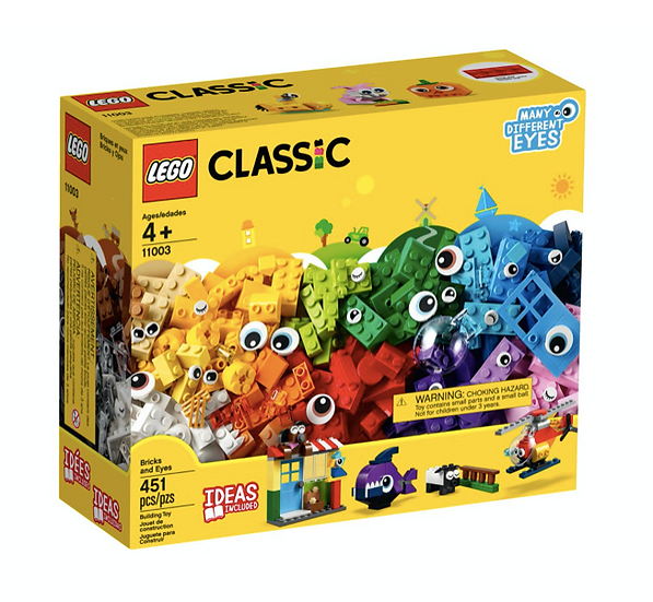 LEGO 11003 - Classic Ladrillos y Ojos