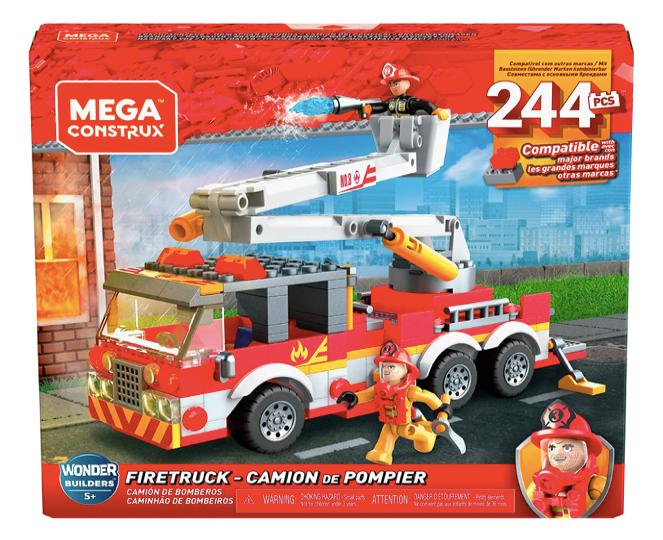 MEGA CONSTRUX GLK54 - Camión de Bomberos