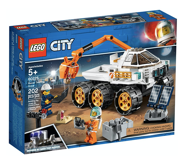 LEGO 60225 - Prueba de Conducción del Róver