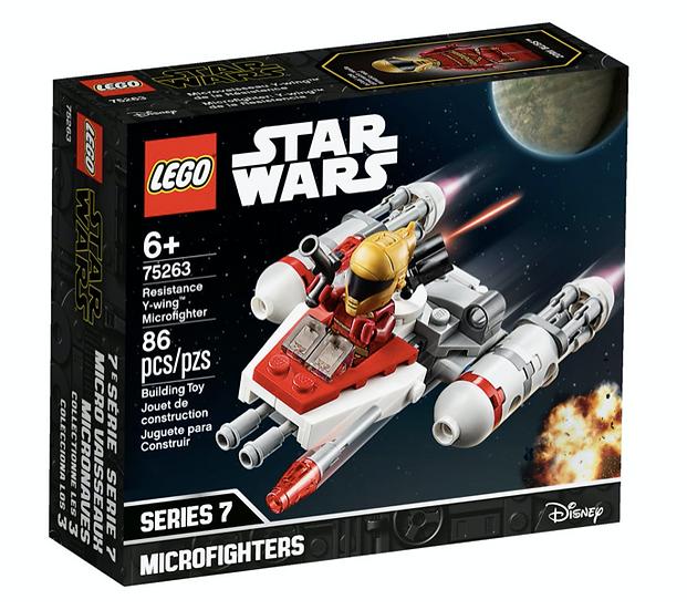 LEGO 75263 - Microfighter: Ala-Y de la Resistencia