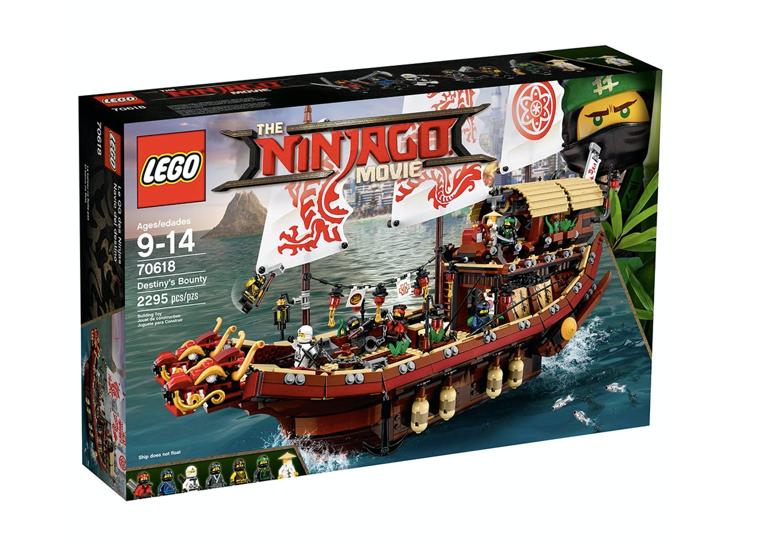 LEGO 70618 - Barco de asalto ninja