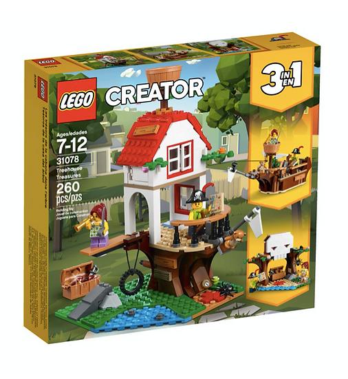 LEGO 31078 - Tesoros de la casa del árbol