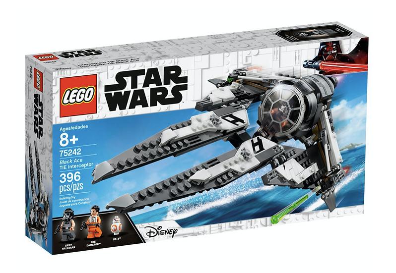 LEGO 75242 - Interceptor TIE Black Ace