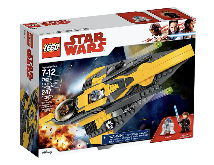 LEGO 75214 - Caza estelar Jedi de Anakin