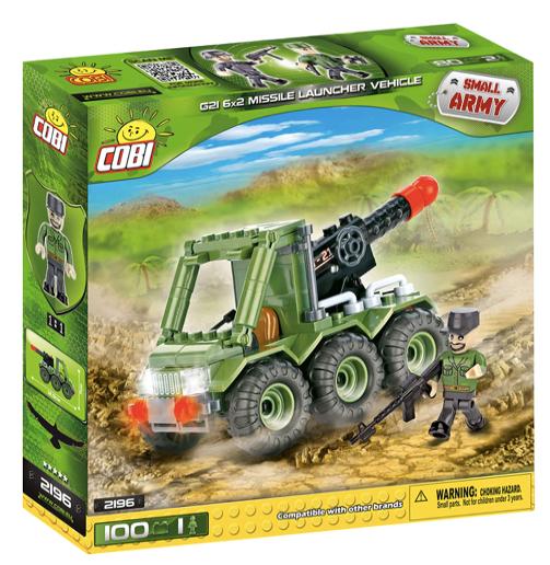 COBI 2196 - G21 6x2 Missile Launcher