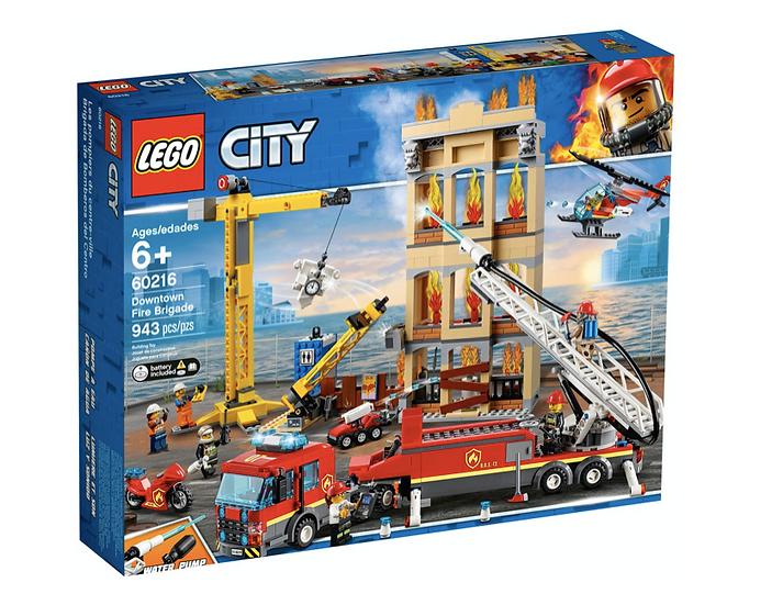 LEGO 60216 - Brigada de Bomberos del Distrito Centro