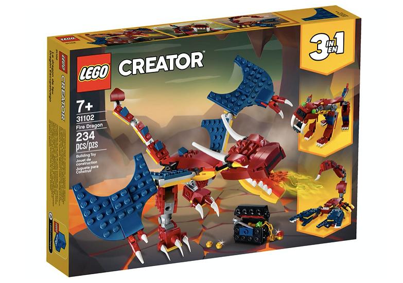LEGO 31102 - Dragón Llameante