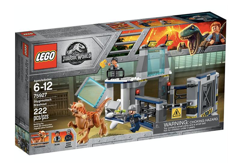 LEGO 75927 - Fuga del Stygimoloch