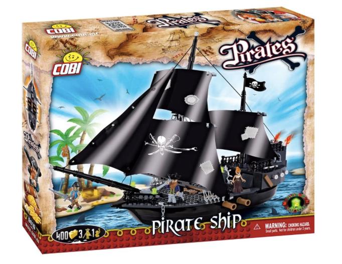 COBI 6016 - Barco de Piratas