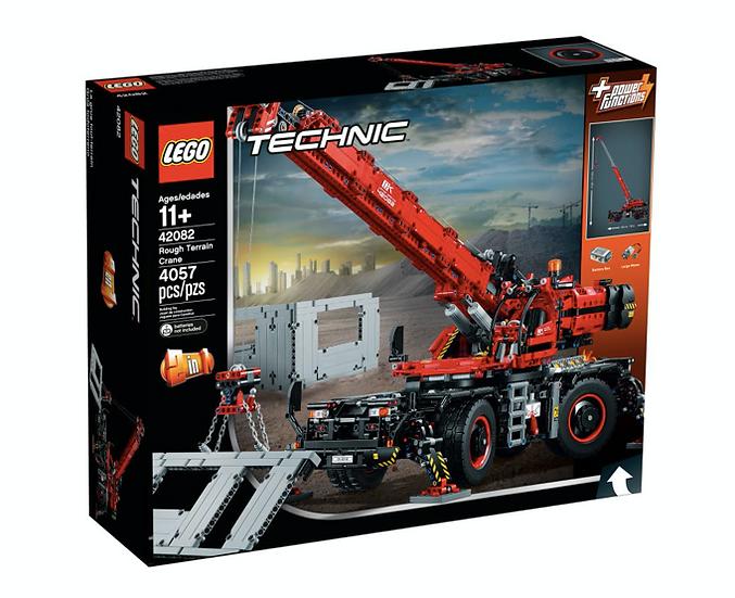 LEGO 42082 - Grúa todoterreno