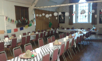 The Main Hall: birthday party