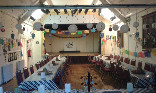 The main hall: party