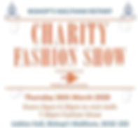 Thu 26th Mar: Charity Fashion Show
