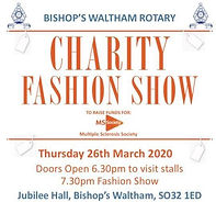 Thu 26th Mar: Charity Fashion Show