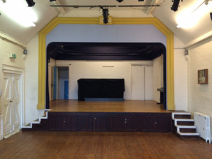 The main hall: stage