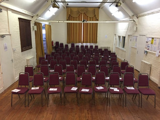 Seating available for large groups
