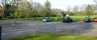 Plenty of car parking space