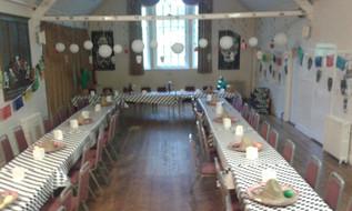 The Main Hall: birthday party