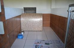 Interior da baia