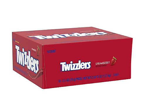 _Twizzlers, Strawberry Twists, 18 ct
