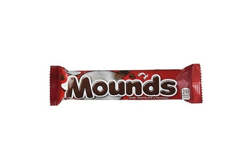 Mounds Dark Chocolate & Coconut Candy bars, 36 ct.