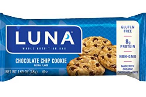 Luna Bars, Chocolate Chip Cookie, 15 ct.