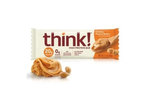 Think, Creamy Peanut Butter, 18 ct.