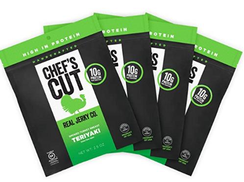 _Chef's Cut, Jerky, Teriyaki Turkey, 12 ct.