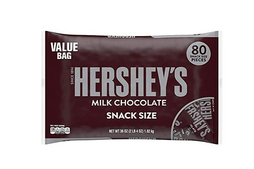 Hershey, Milk Chocolate Fun Size Candy Bars, 80 ct.