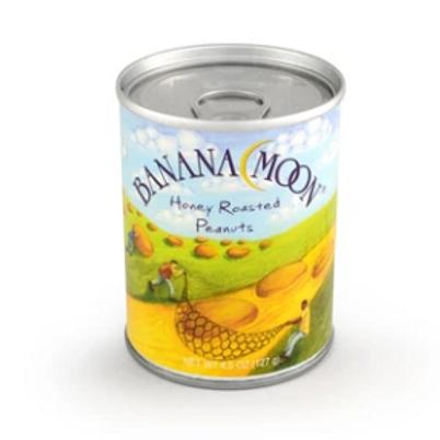 Banana Moon, Honey Roasted Peanuts, 48 ct. x 4.5 oz.