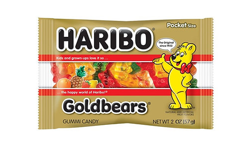 Haribo, Goldbears Gummi Bears, 24 ct