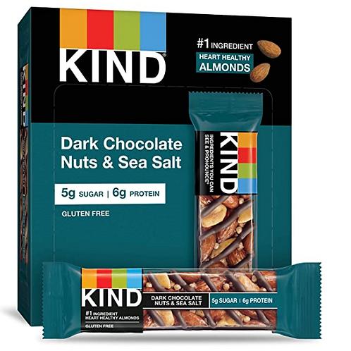 Kind Bars; Dark Chocolate Nuts & Sea Salt, 12 ct.