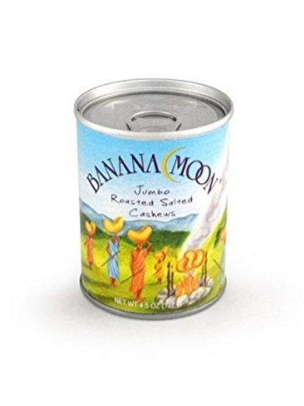 Banana Moon, Roasted Salted Cashews, 48 ct. x 4.5 oz.