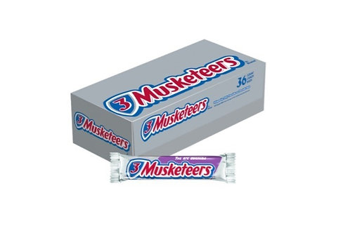 _Three Musketeers, Chocolate Candy Bars, 36 ct.