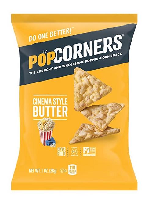 _PopCorners, Cinema Style Butter Popped Corn Snacks, 40 ct.
