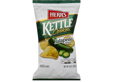 _Herr's Kettle Potato Chips, Jalapeno, 12ct.