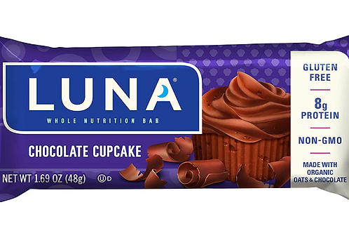 Luna Bars, Chocolate Cupcake, 15 ct.