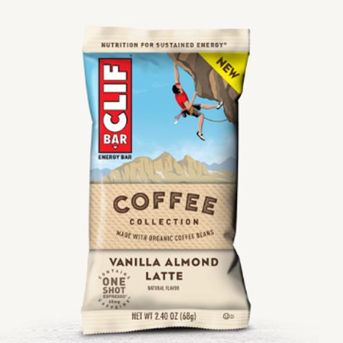 _Clif Bars, Organic, Vanilla Almond Latte, 12 ct.