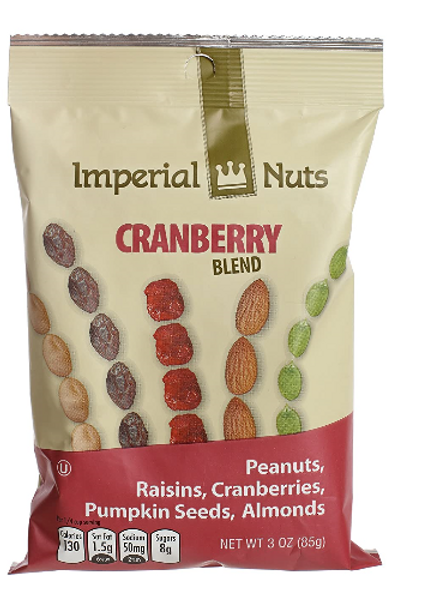 _Imperial Nuts Blends; Cranberry Blend, 18 ct.