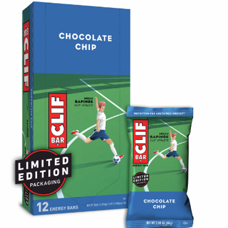 Clif Bars, Organic, Chocolate Chips, 12 ct.